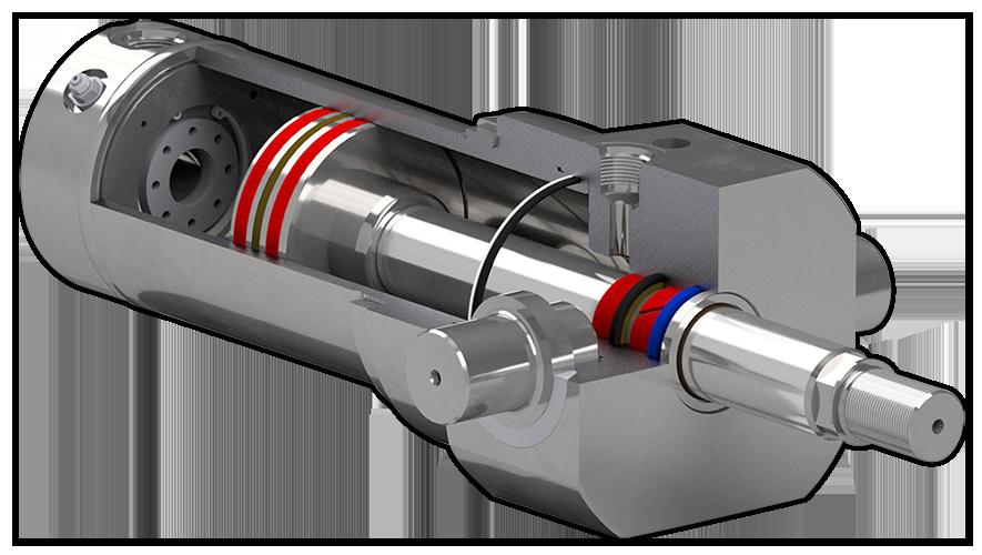 Hydraulikzylinder für Maschinen und Anlagen