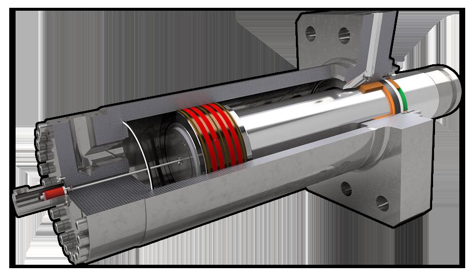 Hydraulikzylinder für Recyclingtechnik