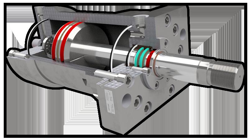Hydraulikzylinder für Werkzeug- und Formenbau