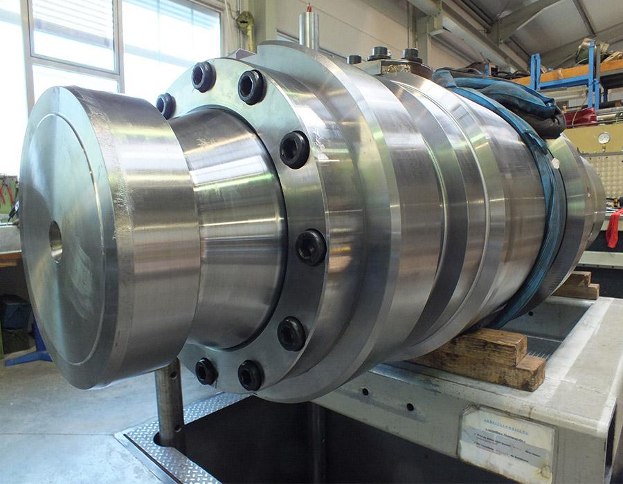 reparierter Scherenzylinder